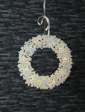 Best Season Fensterkranz Snowflake Wreath