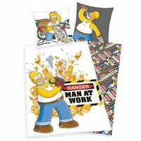 Herding Simpsons  Homer  80x80+135x200cm
