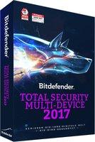 BitDefender Total Security Multi-Device 2017 (5 Geräte) (1 Jahr)