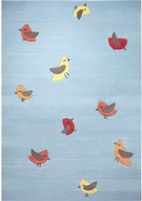Esprit Home Birdie 90x160cm blau