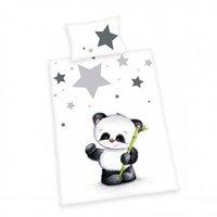 Herding Bettwäsche Baby Best Jana kleiner Panda Renforcé