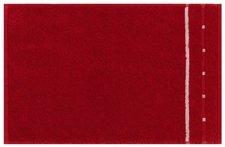 Vossen Quadrati Gästetuch purpur/weiß (30x50cm)