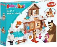 BIG PlayBIG Bloxx Masha und der Bär - Bärs Winterhaus