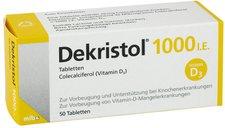 Mibe Dekristol 1.000 I.E. Tabletten (50 Stk.)