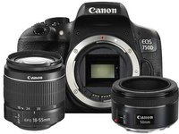 Canon EOS 750D Kit 18-55 mm + 50 mm