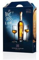 Marzadro Le Diciotto Lune mit 2 Gläsern 0,5l 41%