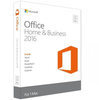 Microsoft Office 2016 Home and Business (Multi) (Mac) (ESD)