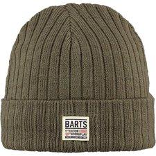 Barts Parker Beanie army grün