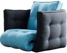 Karup Dice Sitzfläche horizon blue