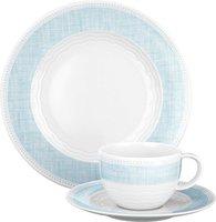 Seltmann Weiden Marina Canvas blue Kaffeeservice 18-teilig M
