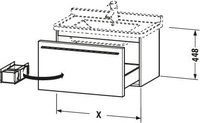Duravit X-Large weiß matt (XL605801818)
