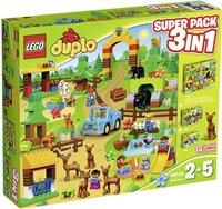 LEGO Duplo - Wildpark 3 in 1 Super Pack (66538)