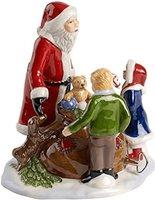 Villeroy & Boch Christmas Toys Szene Santa mit Kindern 15x15x17cm