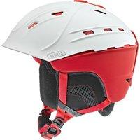 Uvex P2us white/red mat