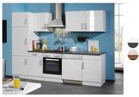 Held Möbel Nevada Küchenzeile mit Elekrogeräten (280 cm)