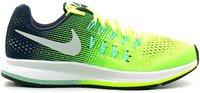 Nike Air Zoom Pegasus 33 GS volt/obsidian/green glow/metallic silver