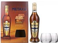 Metaxa 7 Sterne Amphora mit 2 Gläsern 0,7l
