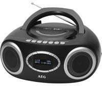 AEG Unterhaltungselektronik SR 4370 schwarz