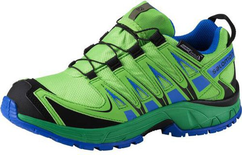 huge discount e3e3c 5e4bd Salomon XA Pro 3D CSWP K tonic green athletic green x union blue