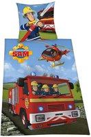 Herding Feuerwehrmann Sam Renforcé 80x80+135x200cm