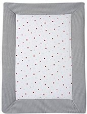 Schardt Krabbeldecke Stern rot 100 x 135 cm
