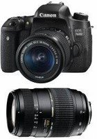 Canon EOS 760D Kit 18-55 mm + 70-300 mm Tamron
