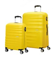 American Tourister Wavebreaker Spinner-Set 55/77 cm sunny yellow