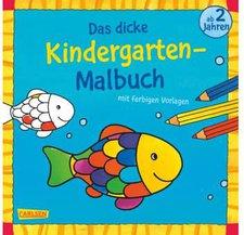 Carlsen Das dicke Kindergarten-Malbuch