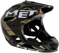 MET Parachute gold-schwarz