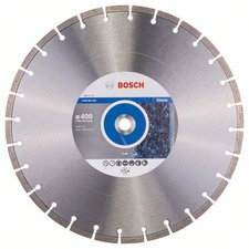 Bosch Diamant-Trennscheibe Professional for Stone 400 x 20,00+25,40 x 3,2 x 10 mm (2608602604)
