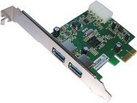 Aixcase PCIe USB 3.0 (AIX-BLPCIEX1U3)