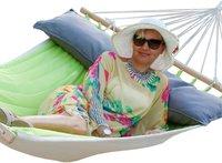 Lola Hängematten Luxus Single Canada Kiwi-Anthrazit