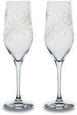 Bohemia Cristal Champagnerkelch Flower satiniert  260 ml