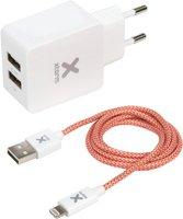 Xtorm CX004 Lightning Kabel + AC Adapter
