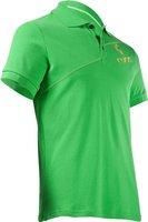 Cube Polo Shirt Diagonal grün