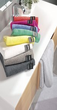 Cawö Life Style Uni 7007 Duschtuch pink (70x140cm)