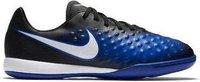 Nike Magista Opus II IC Jr black/white/paramount blue/blue tint