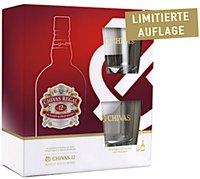 Chivas Regal 12 Jahre Geschenkverpackung mit 2 Gläsern 0,7l 40%