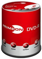 Primeon DVD-R 4,7GB 120min 16x bedruckbar 10er Spindel