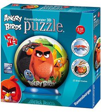 Ravensburger Angry Birds 72PC 3D