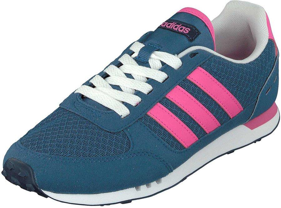 Adidas Neo City W core Blau shock Rosa Blau günstig