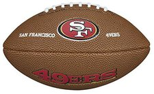 Wilson NFL Team Logo Mini San Francisco 49ers