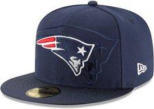 New Era New England Patriots Authentic 2016 On Field 59Fifty blau