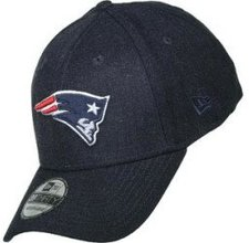 New Era New England Patriots Heather Snapback Cap blau