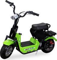 Actionbikes Mini E-Bike Minibike Scooter SQ350DH Grün