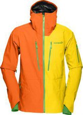Norrona Lofoten Gore-Tex Pro Jacket Men Magma / Mellow Yellow