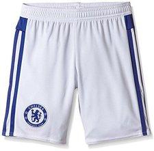 Adidas FC Chelsea Shorts Kinder Away 2015/2016 weiß