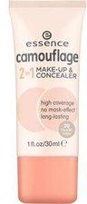Essence Camouflage 2 in 1 Make-Up & Concealer - 20 Nude Beige (30ml)