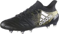 Adidas X 16.1 FG Leather core black/footwear white/gold met.