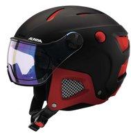Alpina Eyewear Attelas Visor QVM black/red matt